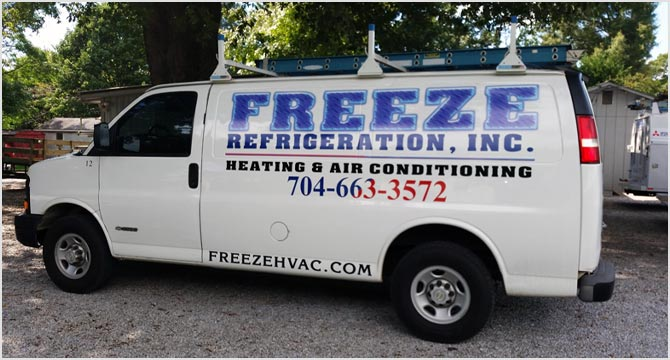 Freeze Refrigeration, Inc. Heating and Air Conditioning Services